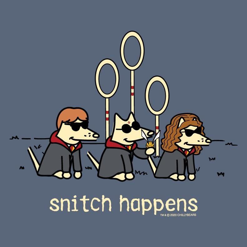Snitch Happens - Classic Tee