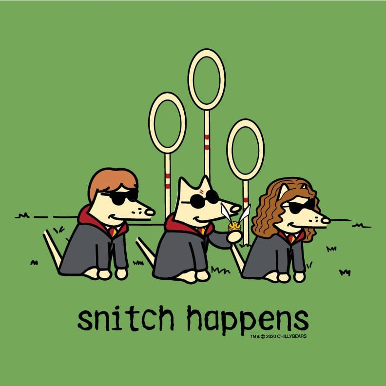 Snitch Happens  - Ladies T-Shirt V-Neck