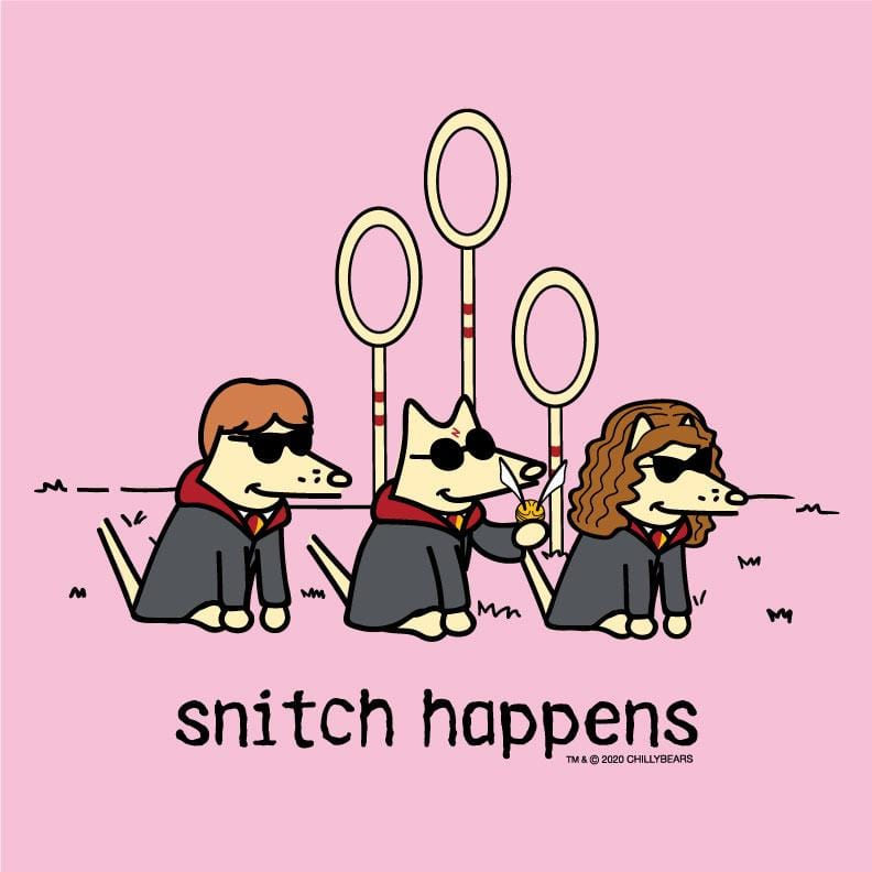 Snitch Happens - Ladies Long-Sleeve T-Shirt