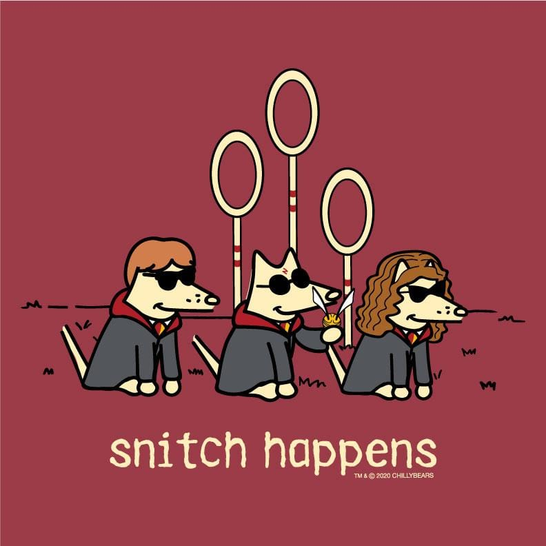 Snitch Happens - Classic Long-Sleeve T-Shirt Classic