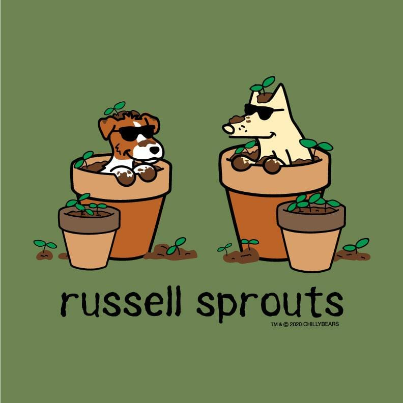 Russell Sprouts - Lightweight Tee