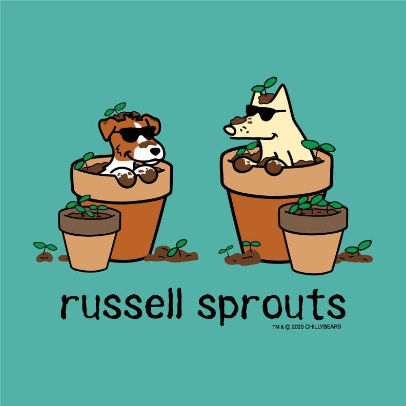 Russell Sprouts - Ladies T-Shirt V-Neck
