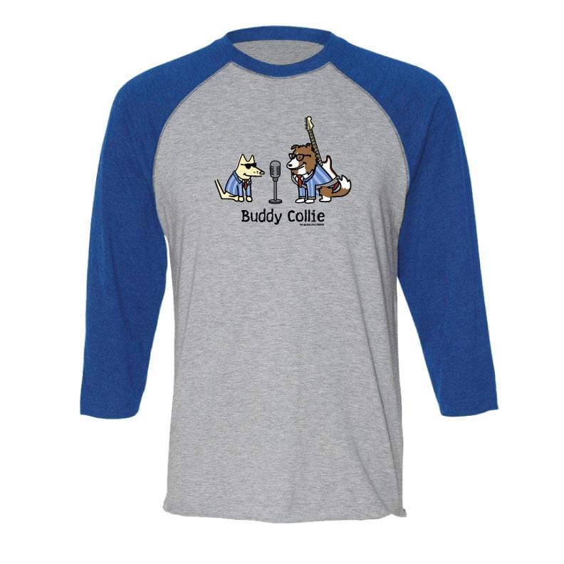 Buddy Collie - Baseball T-Shirt