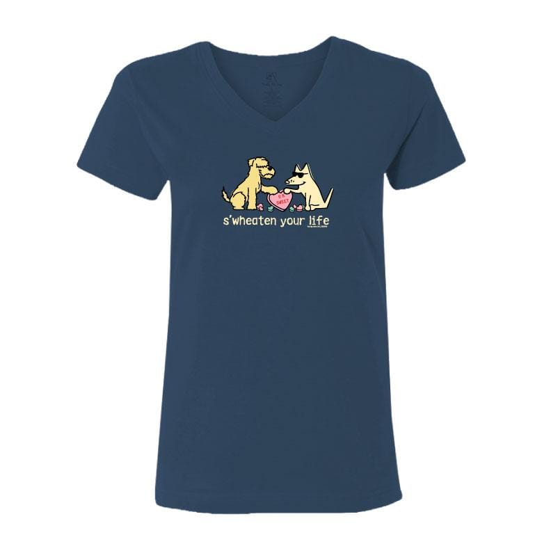 S'Wheaten Your Life  - Ladies T-Shirt V-Neck