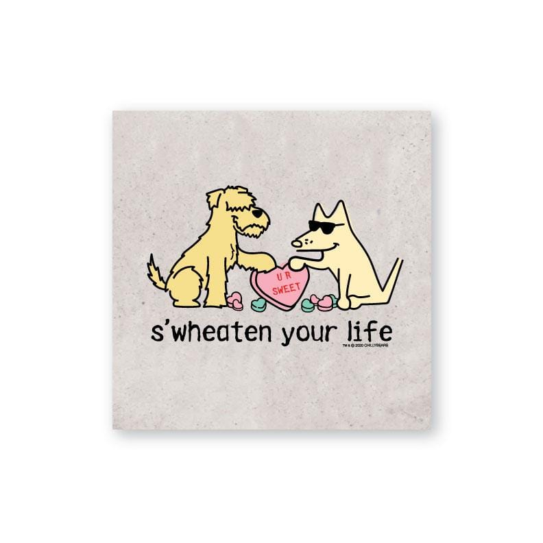 S'Wheaten Your Life - Coaster