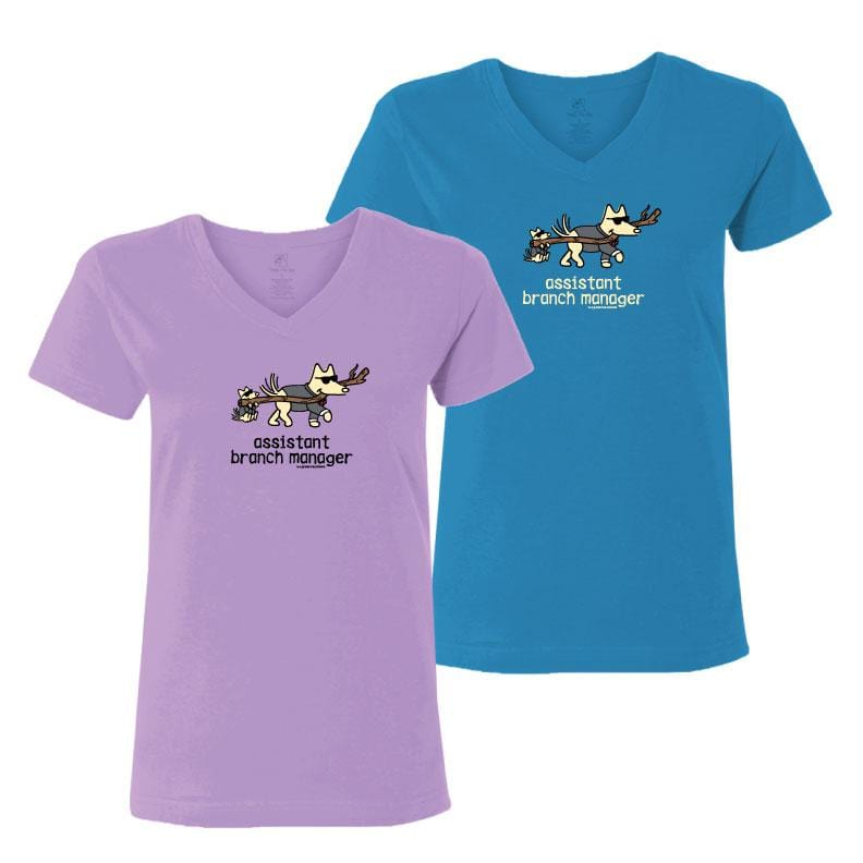 Assistant  Branch Manager - Ladies T-Shirt V-Neck