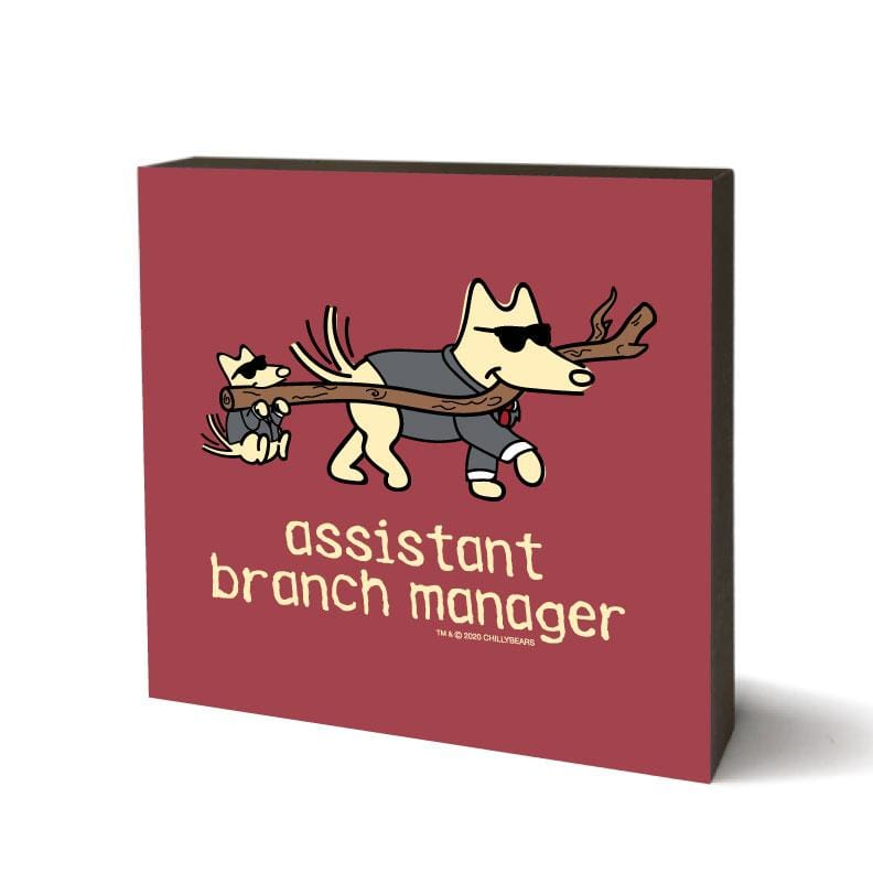 Assistant  Branch Manager - Wooden Table Top Square