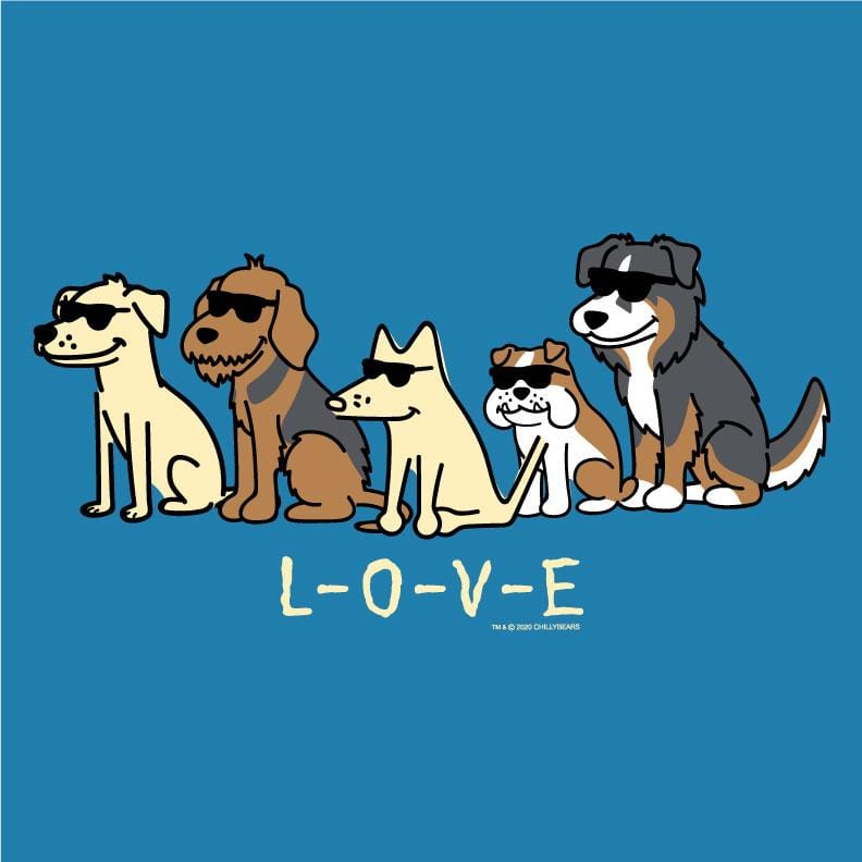 L-O-V-E  - Ladies T-Shirt V-Neck