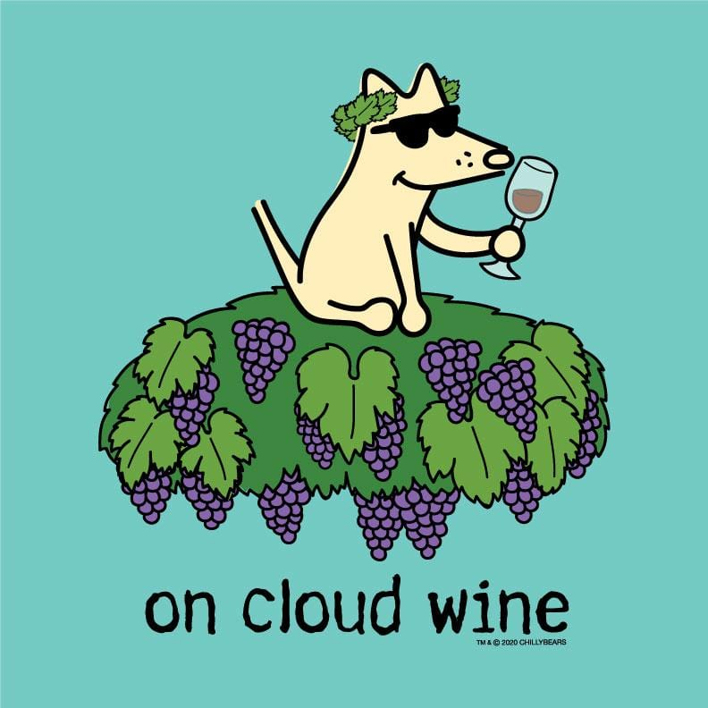 On Cloud Wine - Ladies T-Shirt V-Neck