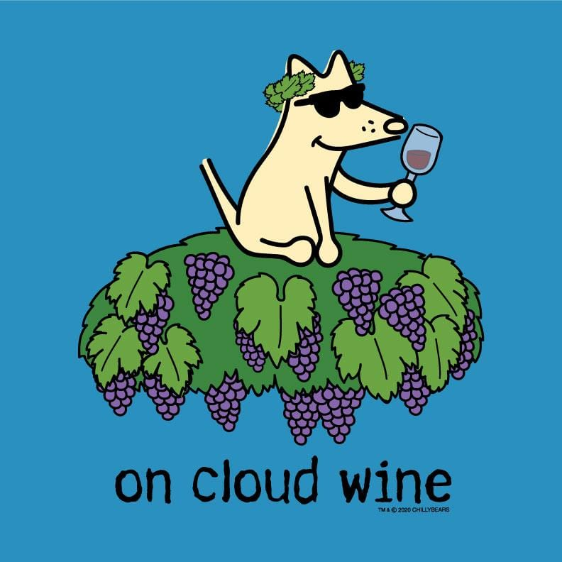 On Cloud Wine - Ladies Night T-Shirt