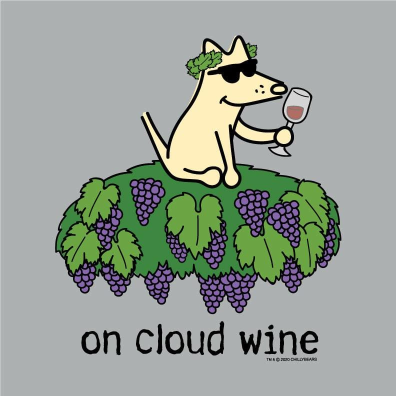 On Cloud Wine - Baseball T-Shirt