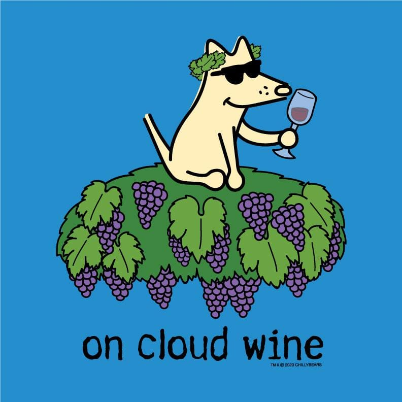 On Cloud Wine - Canvas Tote