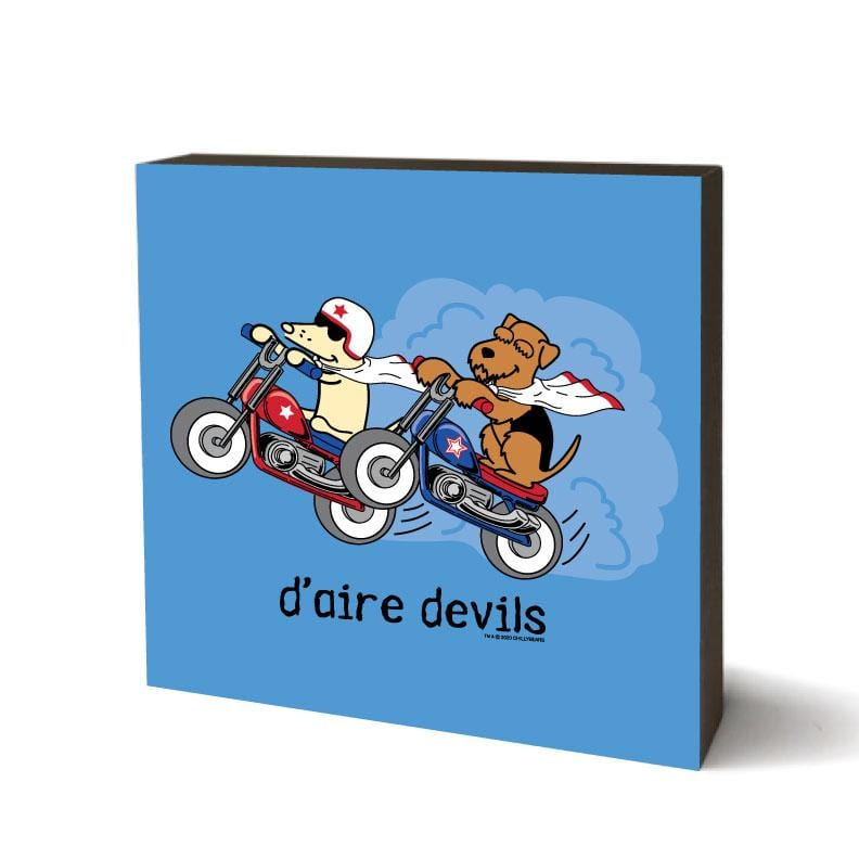 D-aire Devils - Wooden Table Top Square