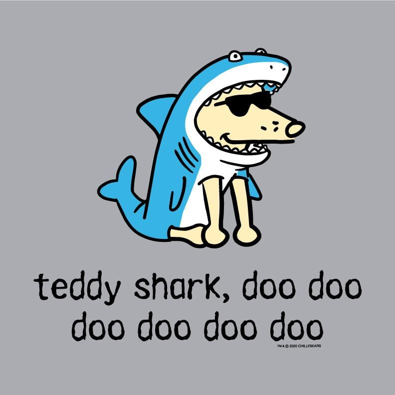 Teddy Shark - Baseball T-Shirt