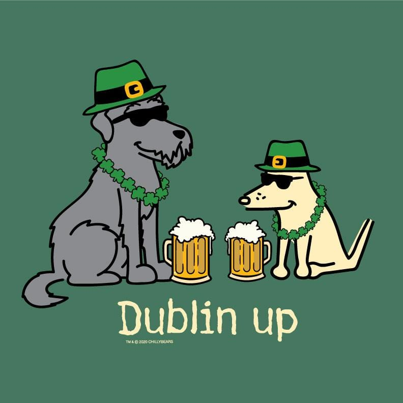 Dublin Up With The Irish - Lightweight Tee