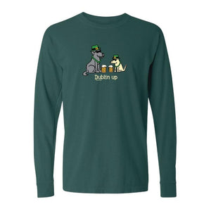 Dublin Up With The Irish - Classic Long-Sleeve T-Shirt