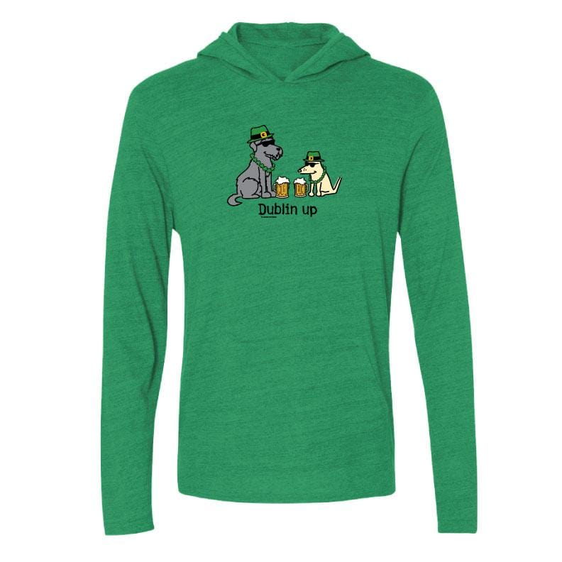 Dublin Up With The Irish - Long-Sleeve Hoodie T-Shirt