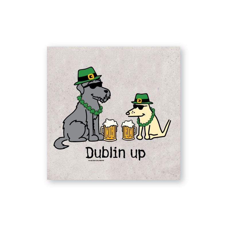 Dublin Up With The Irish - Coaster