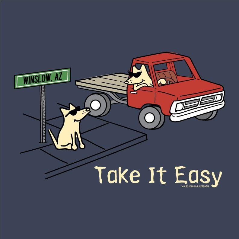 Take It Easy - Sweatshirt Pullover Hoodie