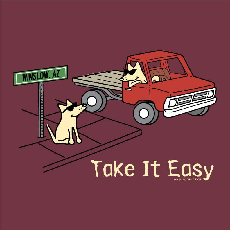 Take It Easy  - Lightweight Tee