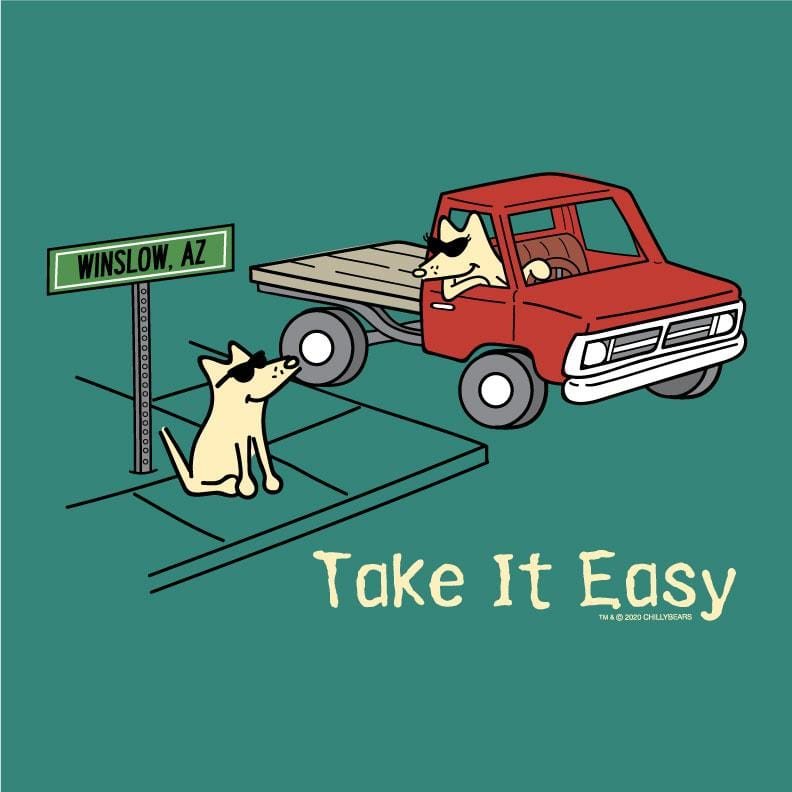 Take It Easy - Ladies T-Shirt 3-4 Sleeve