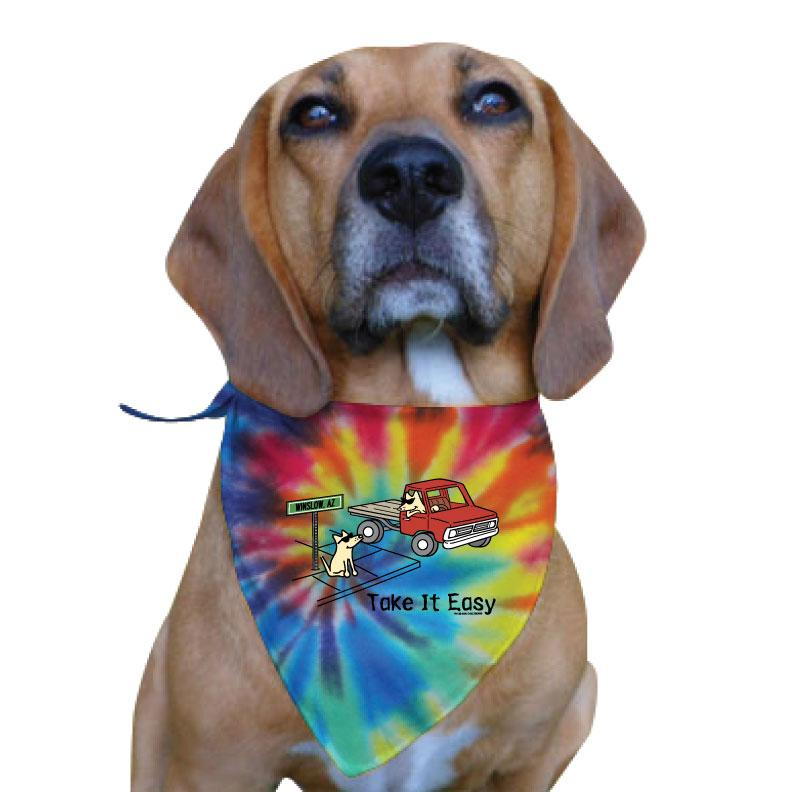 Take It Easy - Doggie Bandana