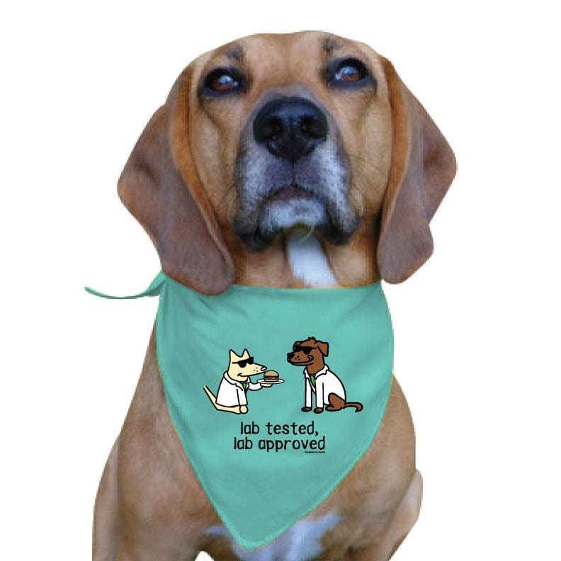 Lab Tested, Lab Approved - Doggie Bandana