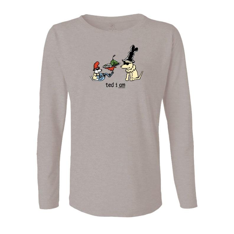 Ted I Am - Ladies Long-Sleeve T-Shirt