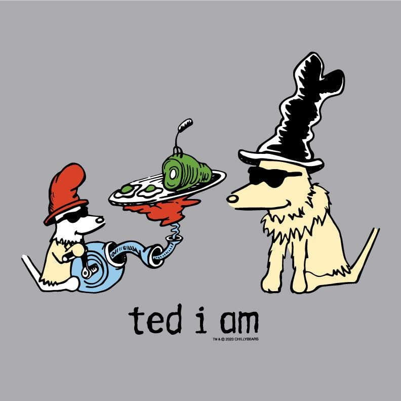 Ted I Am - Baseball T-Shirt