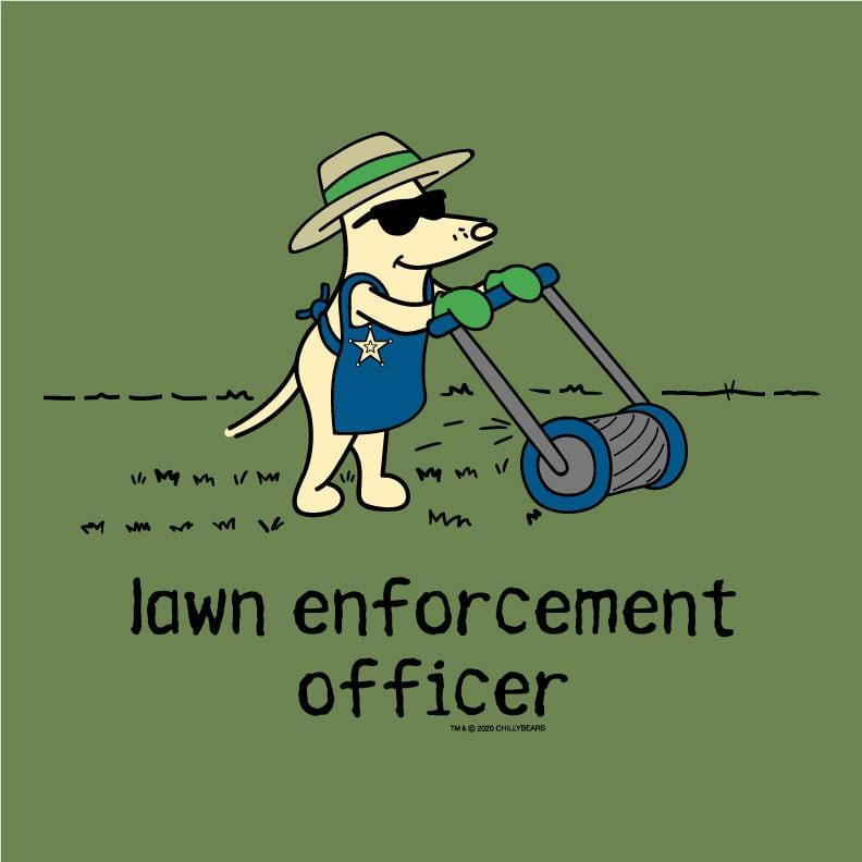 Lawn Enforcement Officer  - Lightweight Tee