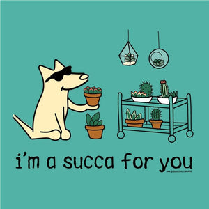 I'm A Succa For You - Ladies T-Shirt V-Neck