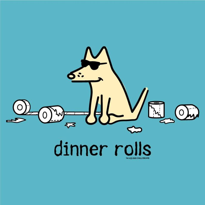 Dinner Rolls - Ladies T-Shirt V-Neck