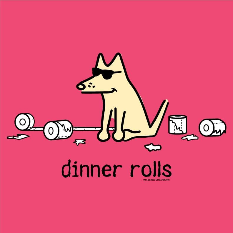 Dinner Rolls - Ladies Curvy V-Neck Tee