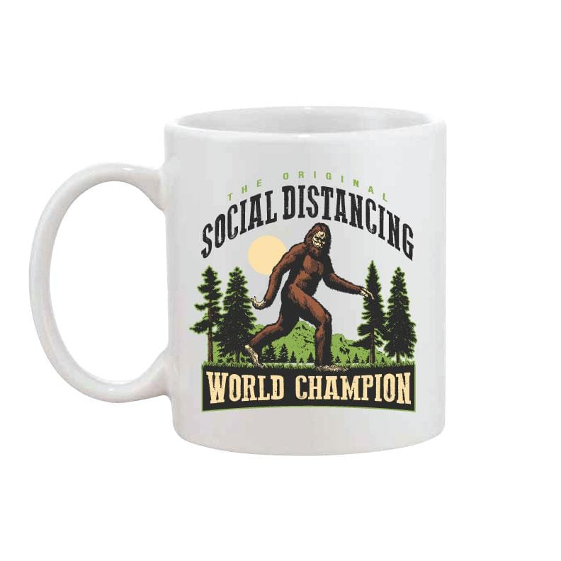 Social Distancing - Coffee Mug