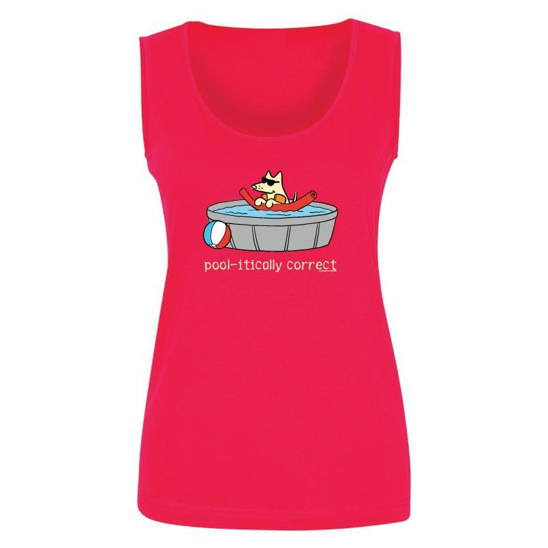 Pool-itically Correct - Ladies Tank Top