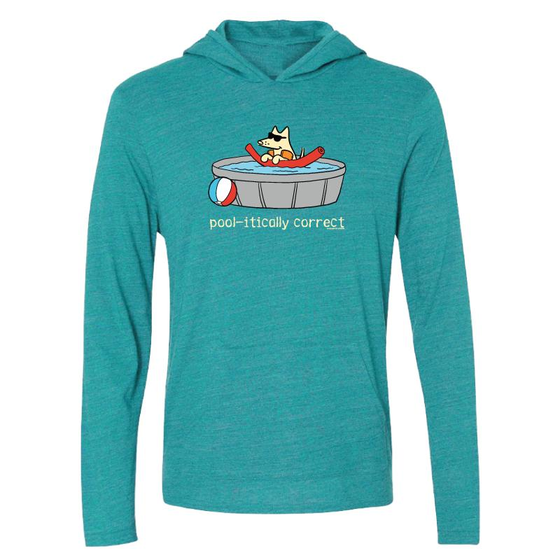Pool-itically Correct - Long-Sleeve Hoodie T-Shirt