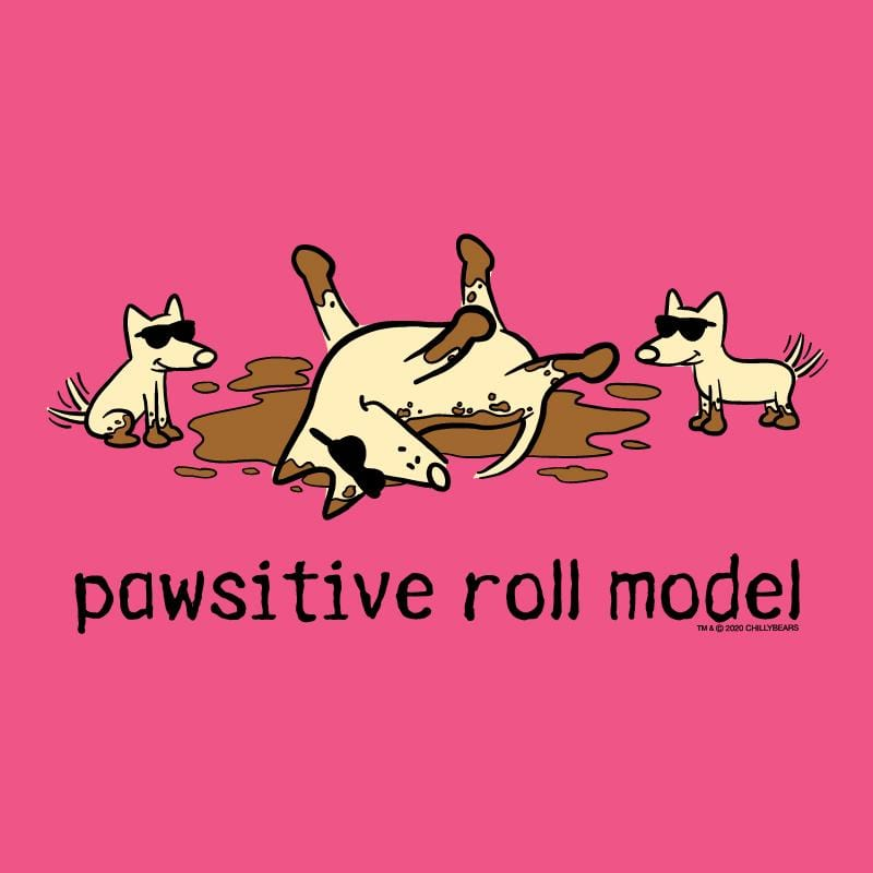 Pawsitive Roll Model - Ladies Night T-Shirt