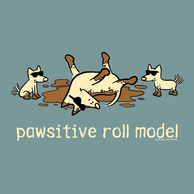 Pawsitive Roll Model - Sweatshirt Pullover Hoodie