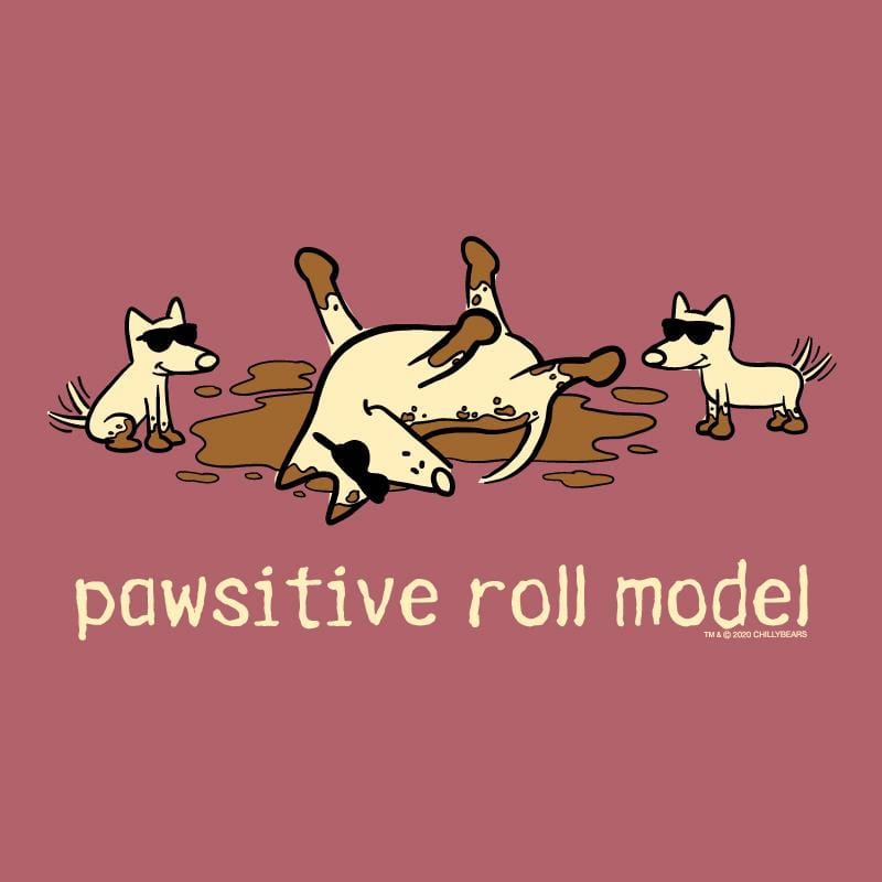 Pawsitive Roll Model  - Classic Long-Sleeve T-Shirt