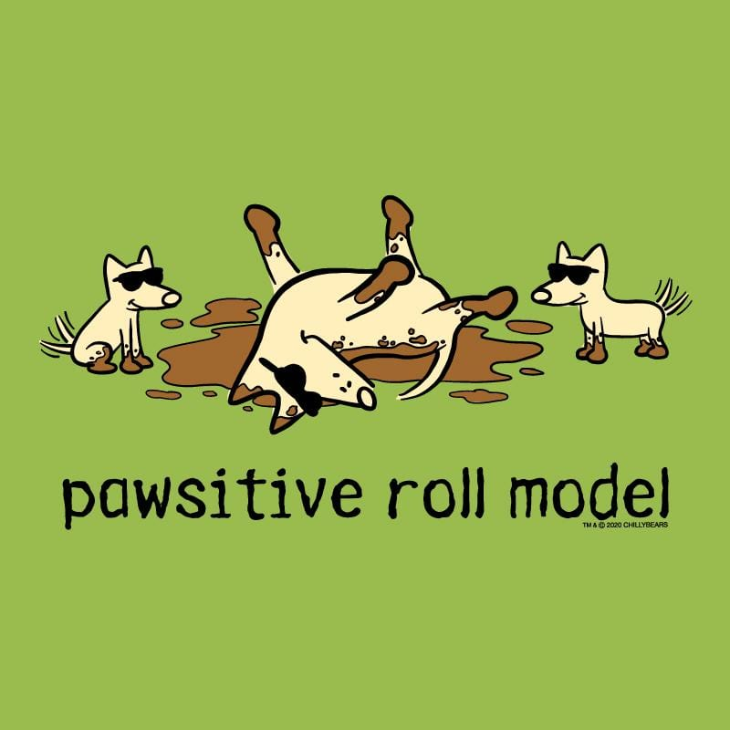 Pawsitive Roll Model - Canvas Tote