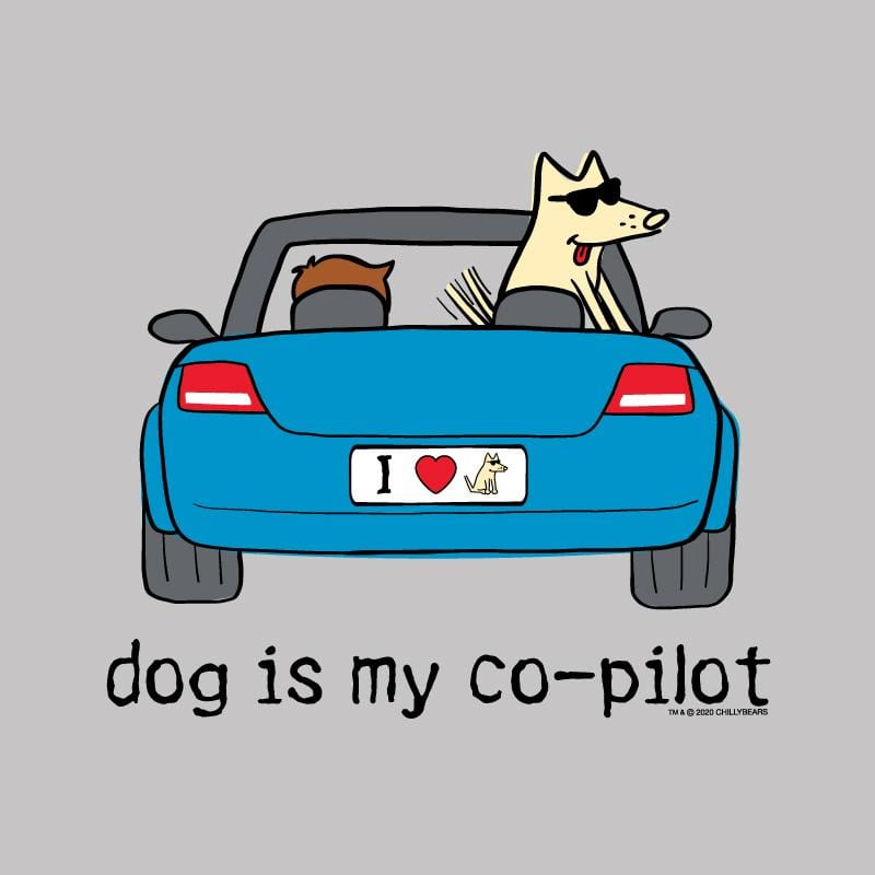 Dog Is My Co-Pilot - Lightweight Tee