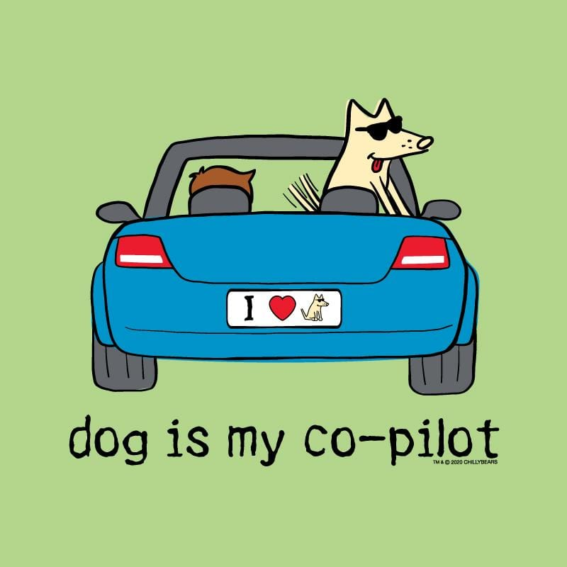 Dog Is My Co-Pilot - Ladies Tank Top