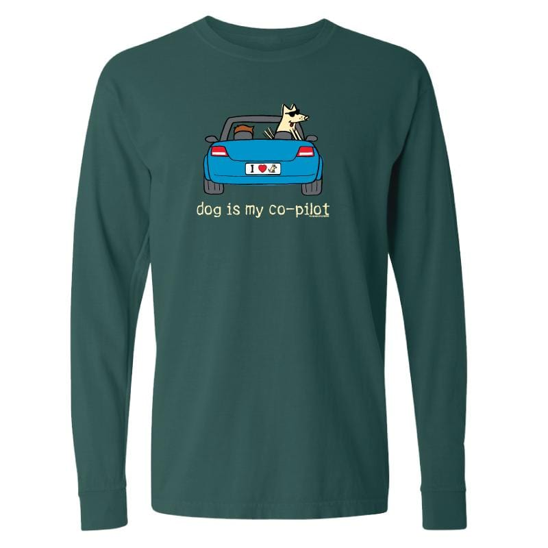 Dog Is My Co-Pilot - Classic Long-Sleeve T-Shirt