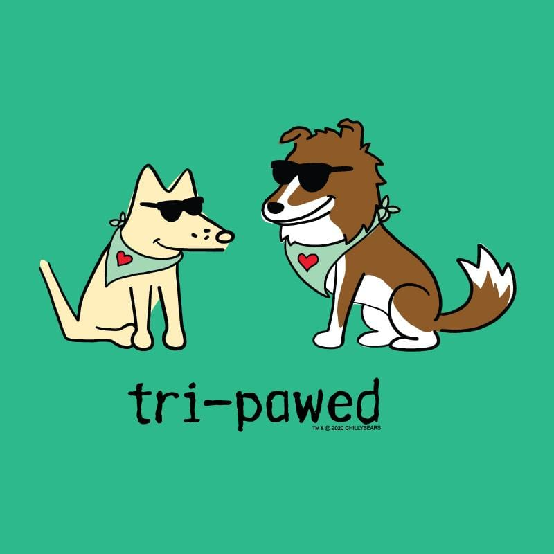 Tri-Pawed - Lightweight Tee