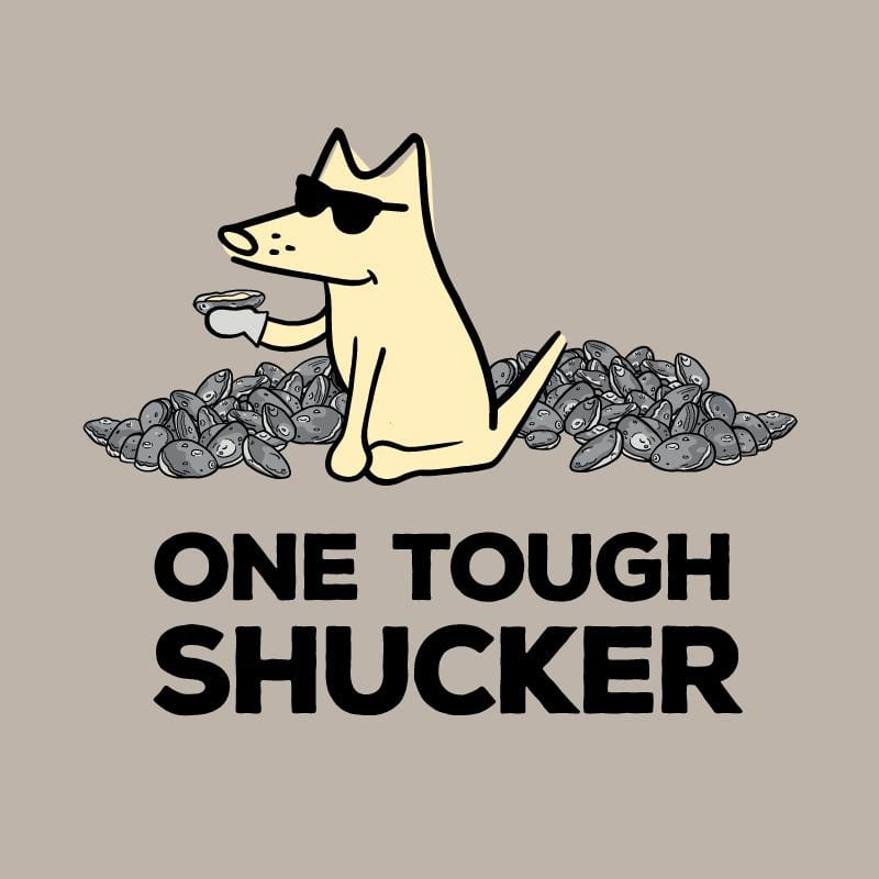 One Tough Shucker - Ladies Curvy V-Neck Tee