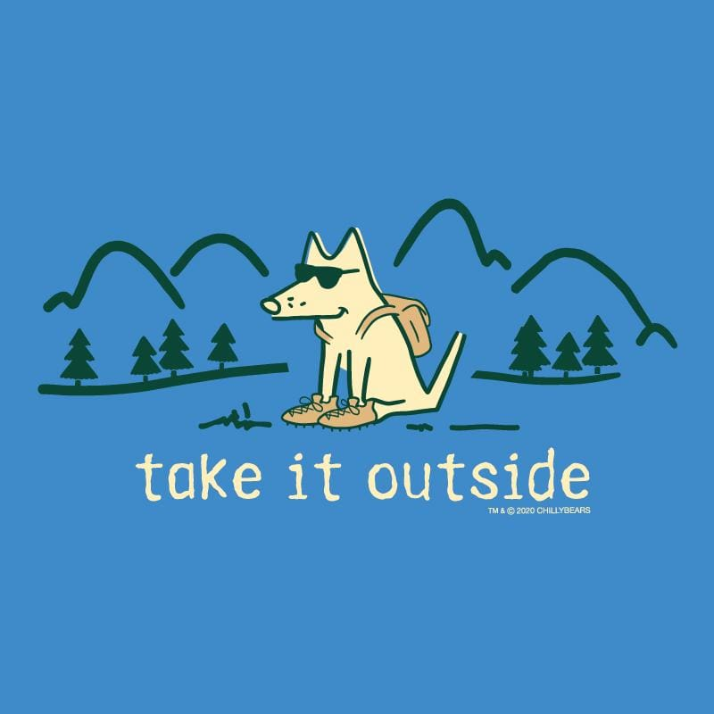 Take It Outside - Long Sleeve T-Shirt Hoodie