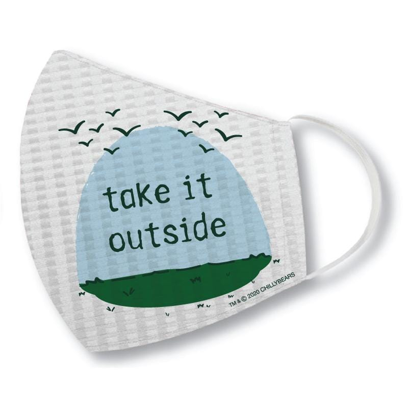 Take It Outside - Face Mask