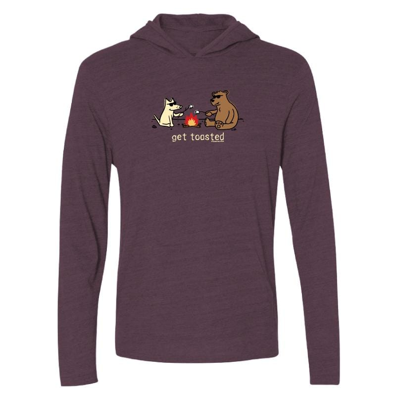 Get Toasted - Long-Sleeve Hoodie T-Shirt