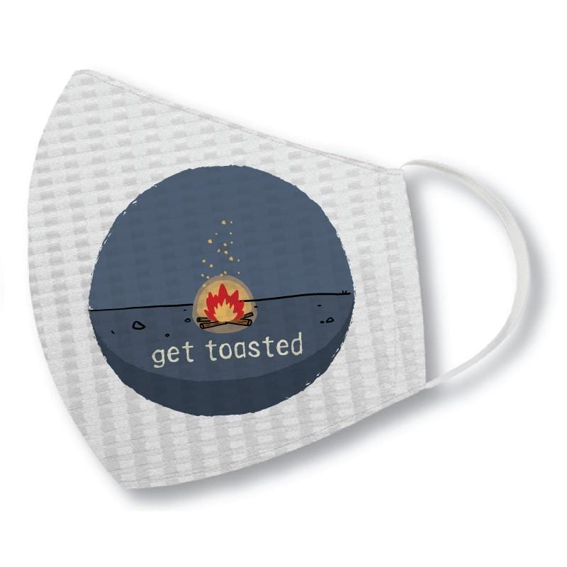Get Toasted - Face Mask