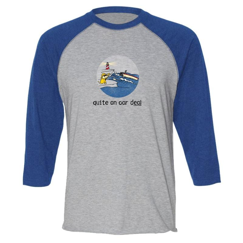 Quite An Oar Deal - Baseball T-Shirt